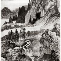 Zhu Rouji (Shitao) · La pincelada única