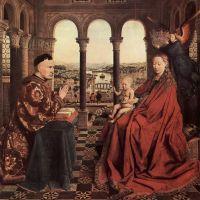 Jan van Eyck. Milagro en la Loggia