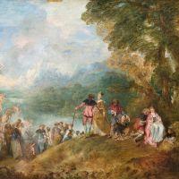 Jean-Antoine Watteau. Los secretos de la fiesta galante