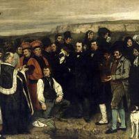Gustave Courbet · El lugar del muerto