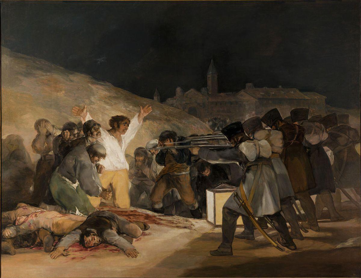 Francisco de Goya: El 2 y 3 de mayo