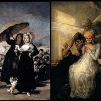 Francisco de Goya · La carta, la flecha y la escoba