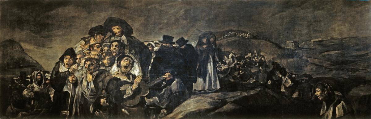 Goya, loco como un genio