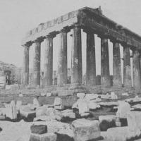 Reconstrucción de la Acrópolis de Atenas