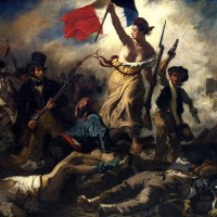 Eugène Delacroix · Bajo los adoquines, la imagen