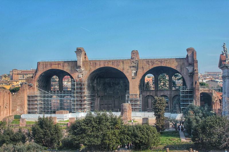 Basílica de Constantino y Majencio