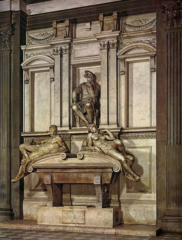 Michelangelo,_tomba_di_lorenzo,_duca_d'urbino