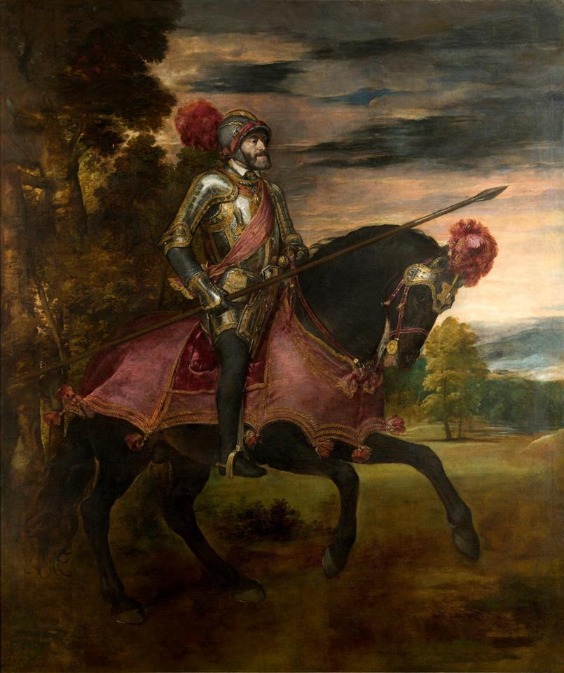 Carlos V en la Batalla de Mühlberg (Copy)