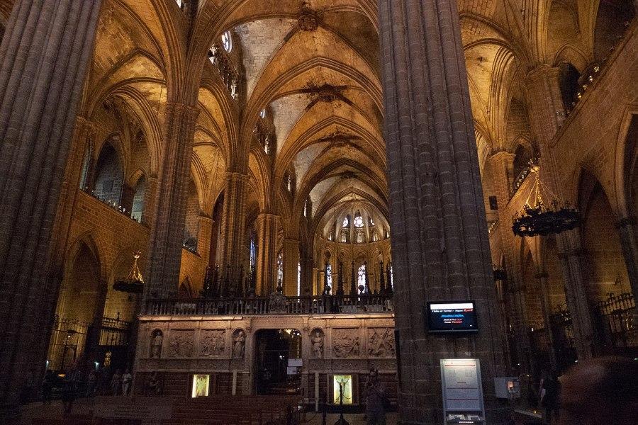 Catedral de Barcelona interior
