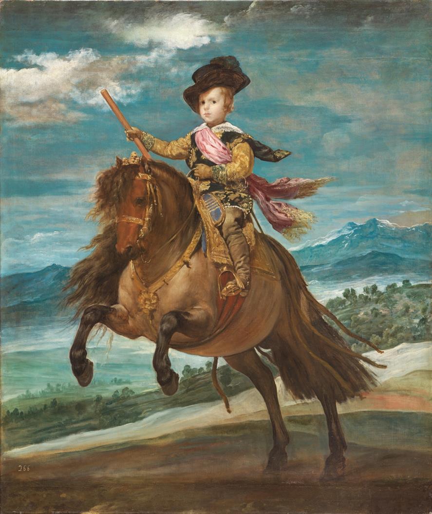 El príncipe Baltasar Carlos, a caballo (Copy)