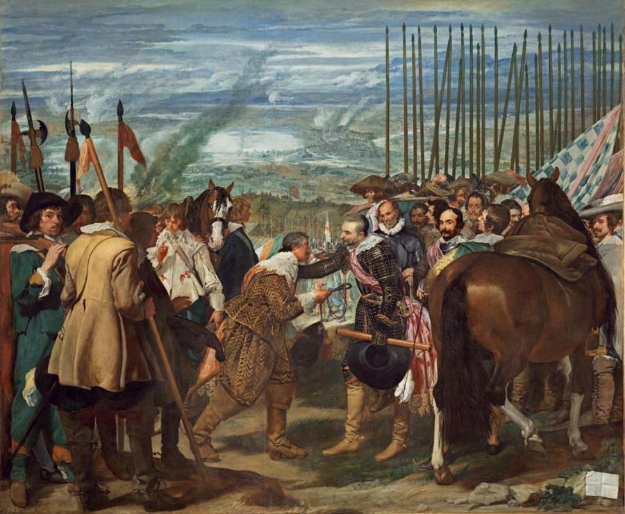 Las lanzas o La rendición de Breda (Copy)
