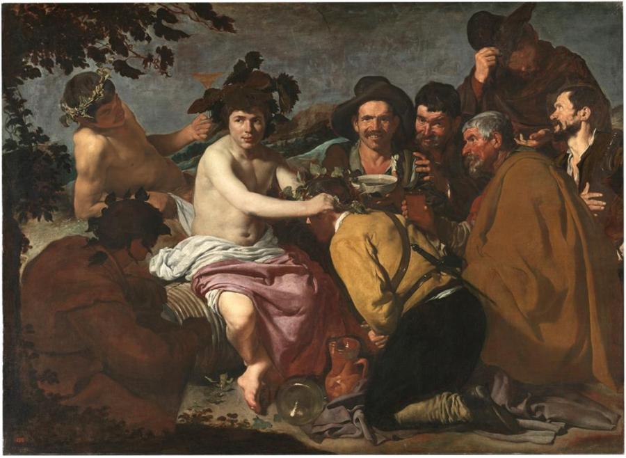 Los borrachos, o El triunfo de Baco (Copy)
