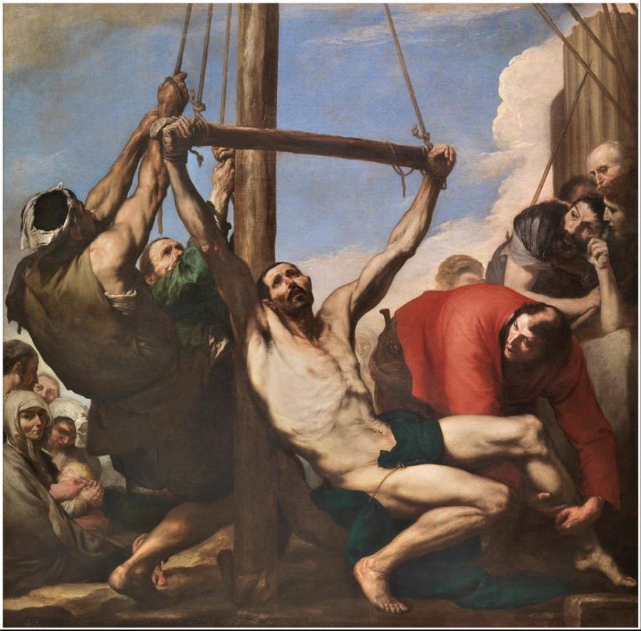 Martirio de san Felipe (Copy)