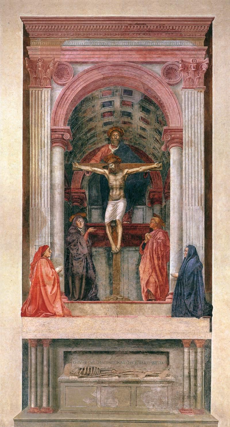 Masaccio_-_Trinity