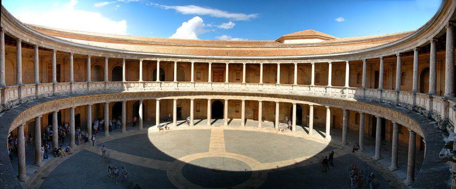 Patio Palacio Carlos V