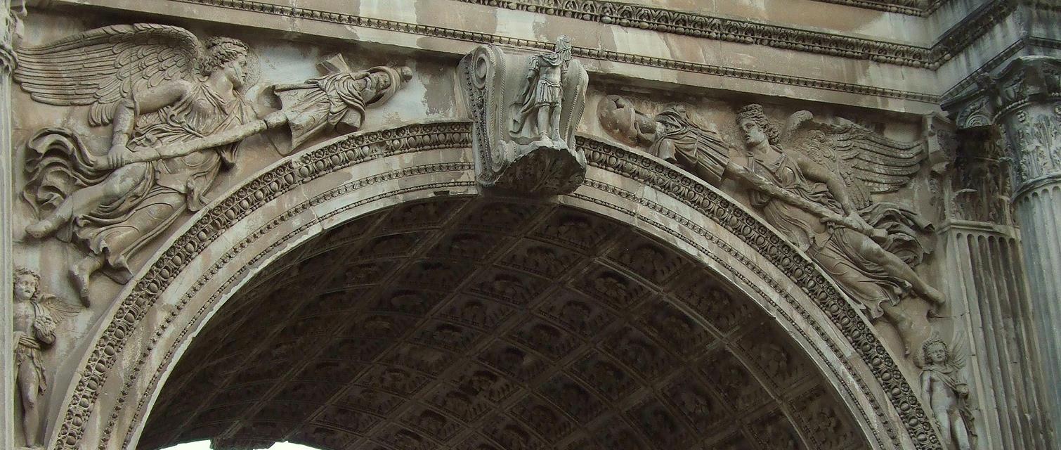 Arco de Septimio Severo Roma, agosto 2010